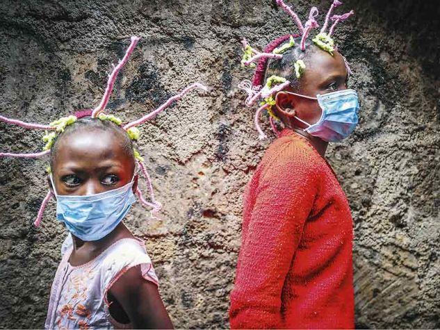 Caritas Bilanz 2020. Donwilson Odhiambo / SOPA Images / LightRocket via Getty Images
