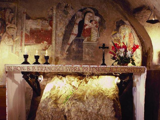 Greggio, Ort der ersten Krippen-Feier des hl. Franziskus. Foto: G. Ruf