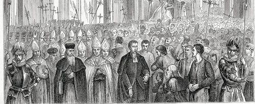 Katholiken, die den Weg der Römisch-Katholischen Kirche nach dem 1. Vatikanischen Konzil mit den sogenannten Papstdogmen nicht mitgehen wollten, haben sich daraufhin in der Alt-Katholischen Kirche organisiert.Wikipedia