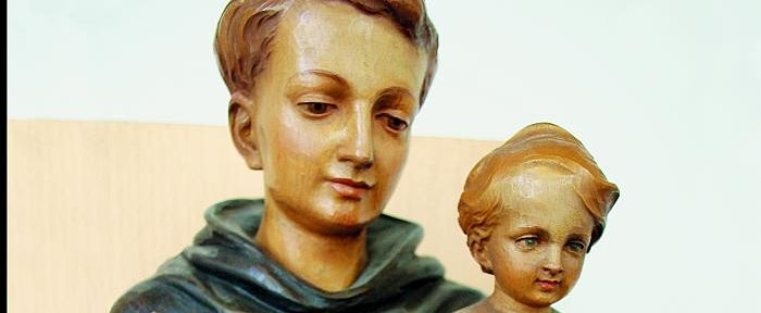 Andreas Murk OFM Conv., Antoniusfigur aus dem Minoritenkloster in Flüeli