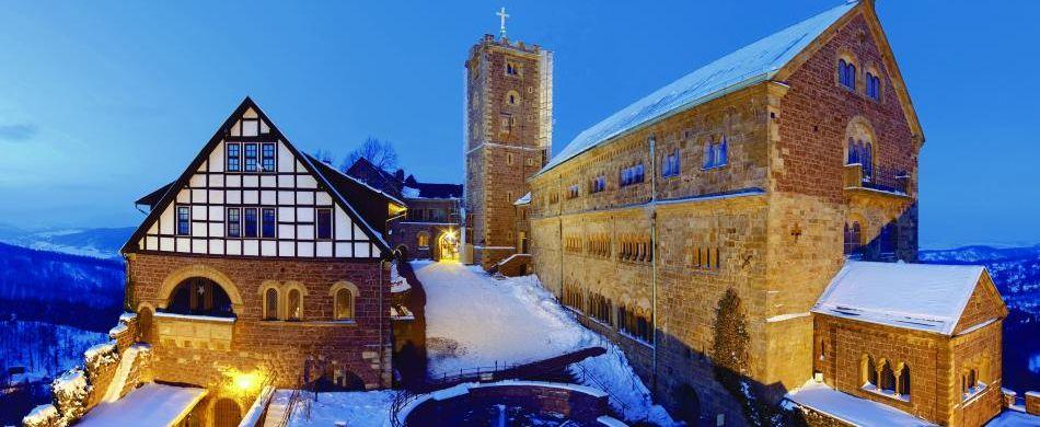 Wartburg im Winter, fotolia